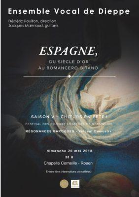 concert de l'EVD à la Chapelle Corneille le 20 mai 2018