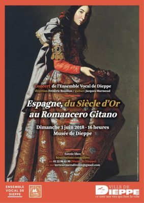 Concert «Romances Gitanes» château-musée de Dieppe dimanche 3 juin 2018