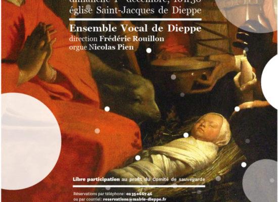 Concert de Noël église Saint Jacques Dieppe
