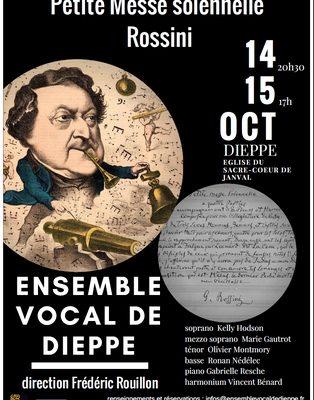 Petite Messe Solennelle de ROSSINI 14 et 15 octobre 2017
