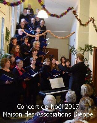 Concert de Noël à la Maison des Associations mercredi 20 décembre 2017